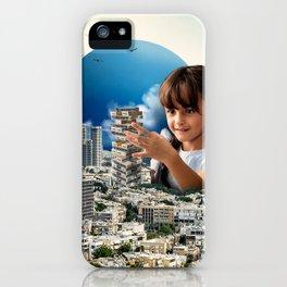 Jenga Tel Aviv iPhone Case