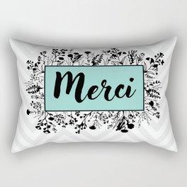 Merci Rectangular Pillow