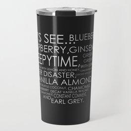 Tea from Scott Pilgrim & Ramona Flowers Travel Mug