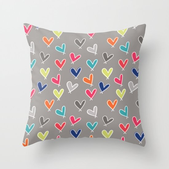 Blow Me One Last Kiss Throw Pillow
