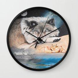 Cancer- The Zodiac Wildlife Series Wall Clock