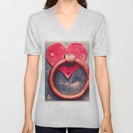 Heart Knocker Unisex V-Neck