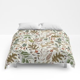 Christmas in the wild nature Comforters