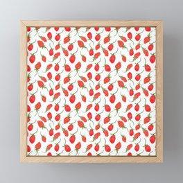 strawberry feild Framed Mini Art Print