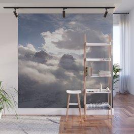 Berg und Wolke (A7 B0177) Wall Mural