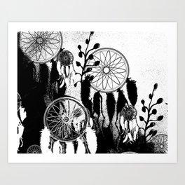 Dreamcatcher Fever Art Print