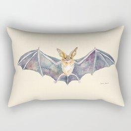 Watercolor Pallid Bat Rectangular Pillow