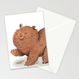 Fat Little Bear Stationery Cards
