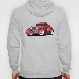 Red Street Rod / Hot Rod Custom Coupe Hoody