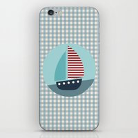 sailing iPhone & iPod Skins featuring Sailing by Mr and Mrs Quirynen