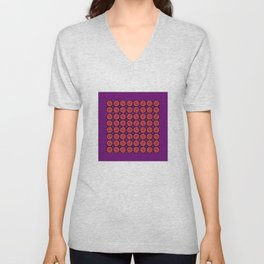 FerrisWheel Purple Unisex V-Neck