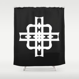 A Particular Vibe Shower Curtain