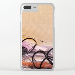 I had a Desert-Dream Clear iPhone Case