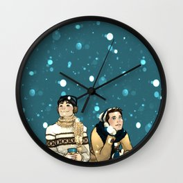 Kevin & Cas - Supernatural Wall Clock