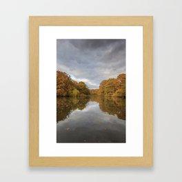 Autumn Ponds - 3 Framed Art Print