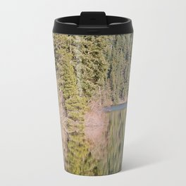 FOREST REFLECTIONS ON A MOUNTAIN LAKE Travel Mug