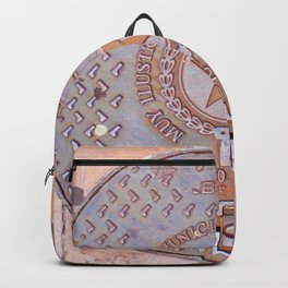 Manhole Cover - Guayaquil Backpack