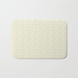 Pastel triangles Bath Mat