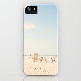 The Beach... iPhone Case