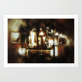 A Night in Seville Art Print