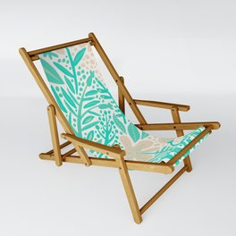 Garden – Mint & Cream Palette Sling Chair