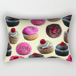 Cupcakes Rectangular Pillow