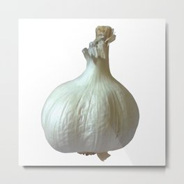 Garlic Solo Metal Print