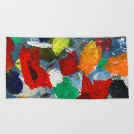 The Artist's Palette Beach Towel