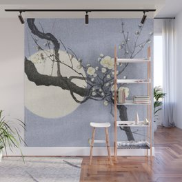Full Moon and blossom Wall Mural