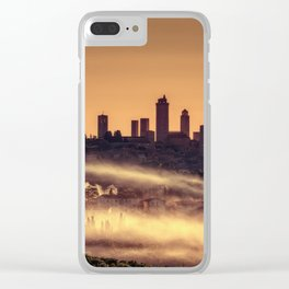 San Gimignano medieval village, Italy. Clear iPhone Case