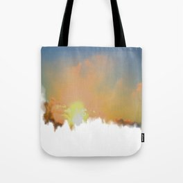 Sunset Lake Murray, La Mesa, California (Copyright) Tote Bag