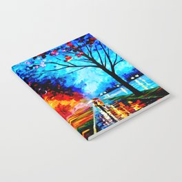 Tardis Colorful Starry Night Notebook