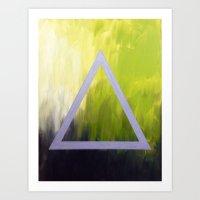 alt j Art Prints featuring Alt-J tribute by amberino