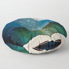 Open Your Imagination Floor Pillow
