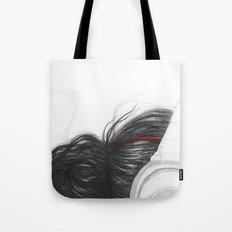 I Love Music | Girl in Headphones Tote Bag