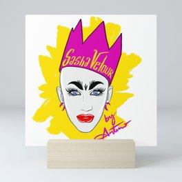 Sasha Velour Mini Art Print