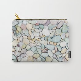 Pastel Stones Carry-All Pouch