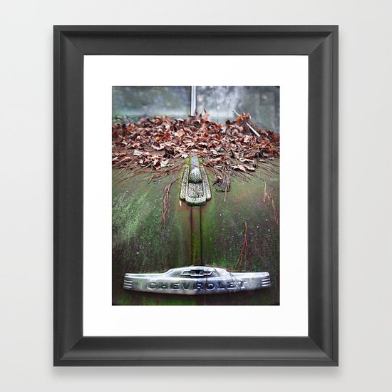 See The USA In Your Chevrolet Framed Art Print