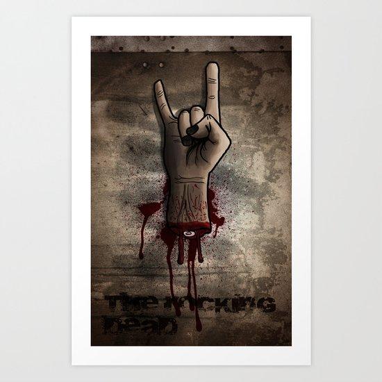 The Rocking Dead Art Print