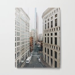 Financial District, Boston Metal Print