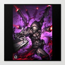 reaper over Canvas Print