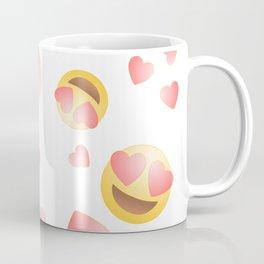 Emoji in Love Coffee Mug