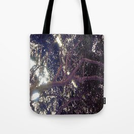 Up above full picture Tote Bag