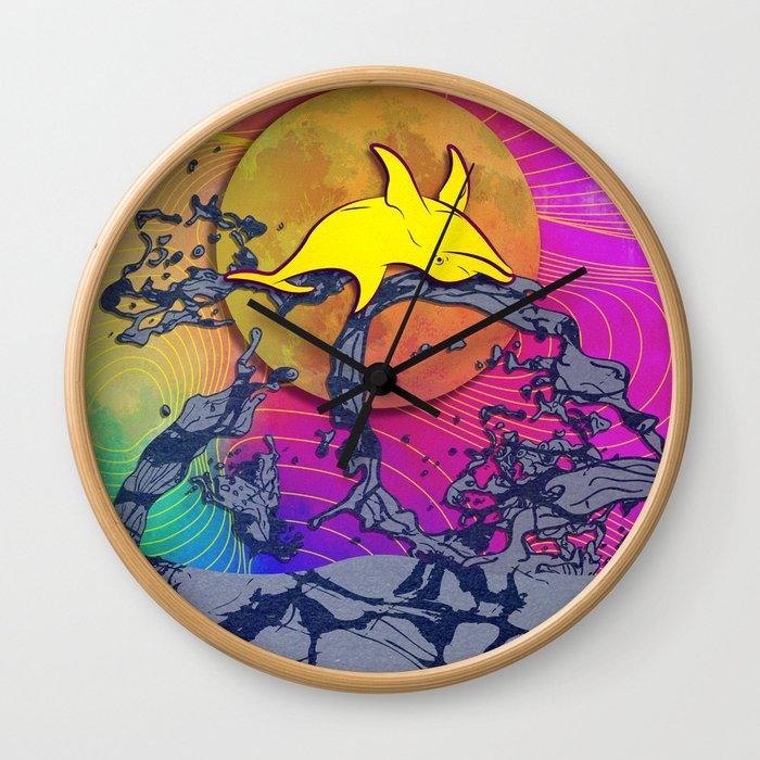 Lánzate (La Noche de San Juan) Wall Clock