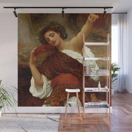 """Frederic Leighton """"Bacchante"""" Wall Mural"""