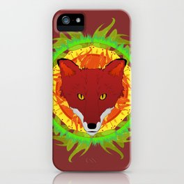Summer Fox iPhone Case