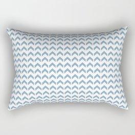 Arrows Up (Blue Pastel) Rectangular Pillow