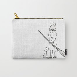 Believe in Yourself (Kiki) - Sketch Carry-All Pouch