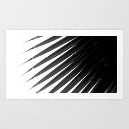 Palm Tree Noir #12 Art Print