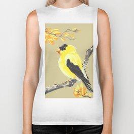 Yellow Finch Biker Tank